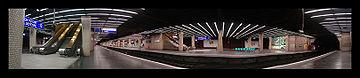 Panorama de la Gare RER de la Défense