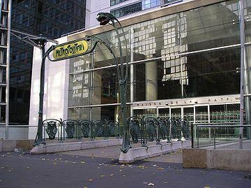 Maison de la RATP dans le 12e arrondissement de Paris