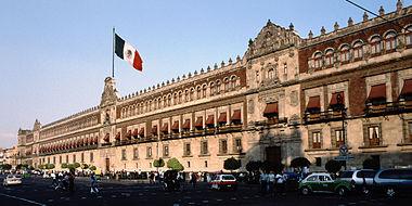 Le Palais National ou Palais du président, en 2005