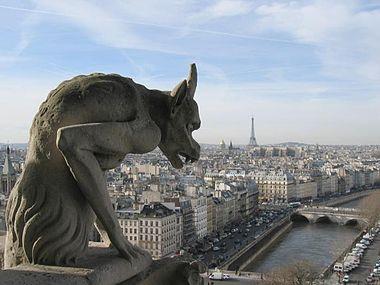 Une gargouille de Notre Dame