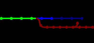 KTX network map     Ligne partagée (KTX)     Ligne Gyeongbu (KTX)    Ligne Gyeongbu (normal)    Ligne Honam (normal)