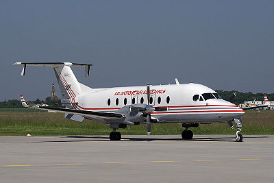 Beechcraft B1900D d'Atlantique Air Assistance