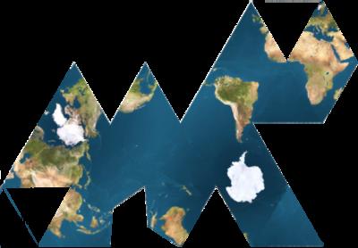Le grand océan planétaire, mis en valeur par ce mode de cartographie, souvent méconu et oublié par les réseaux écologiques pan-continentaux, nationaux et locaux