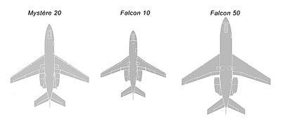 Comparaison des tailles des 3 premiers de la série