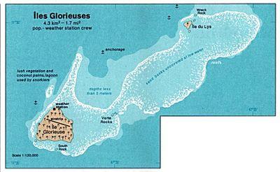 Carte des îles.