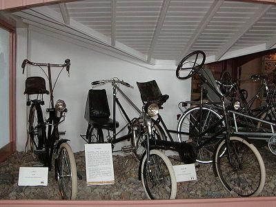 Vélos couché du XXème siècle