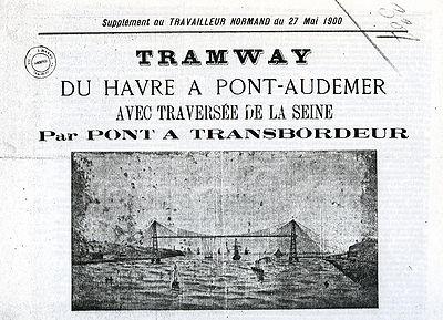 La Ligne du Sud-Ouest fit souvent la une des journaux locaux, ici celle d'un supplément du journal du Travailleur Normand, 27 mai 1900