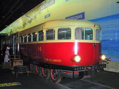 Micheline XM 5005 EST - 1936 (cité du train de Mulhouse)