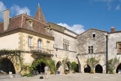 Bastide de Monpazier, en Dordogne
