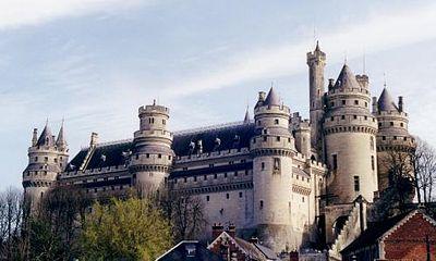 Le château en mars 2002