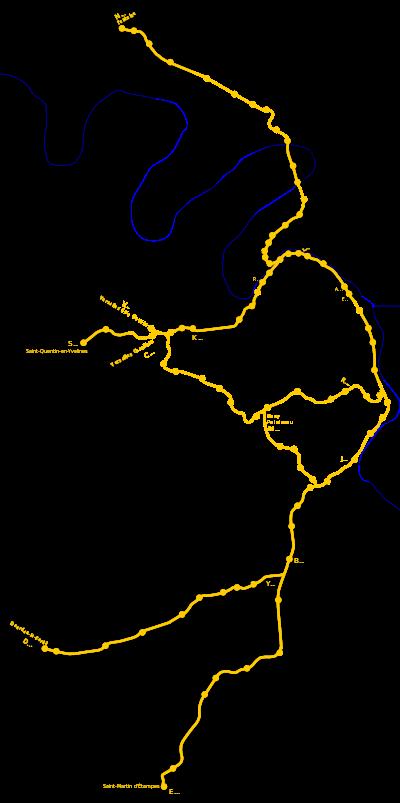 Géographie de la ligne.