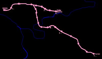 Géographie de la ligne