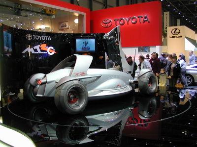 Prototype Toyota présenté au Salon automobile de Genève 2004