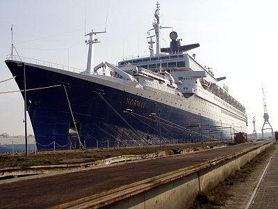 Le paquebot renommé en Norway, amarré à Bremerhaven, Allemagne, en 2004.