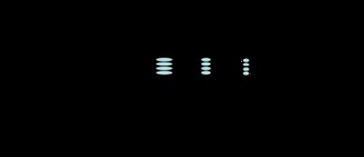 Trajectoire d'un ion dans l'analyseur à temps de vol en mode linéaire