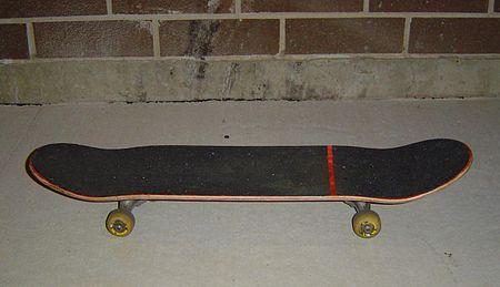 Un skateboard moderne.