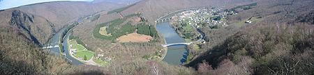La Meuse dans les Ardennes française.