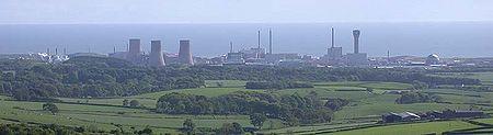 Le site de Sellafield donne sur la mer