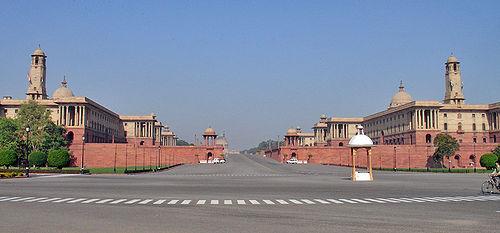 bâtiment de gouvernement à Delhi