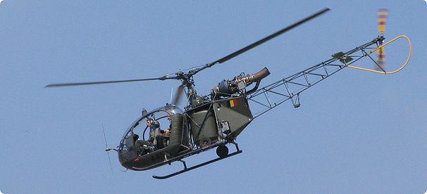Alouette II de l'armée Belge