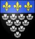 Blason abbaye fr Mont Saint Michel (50).svg
