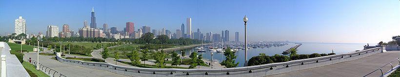 Panorama sur le centre-ville