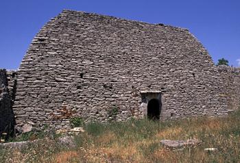 Grande nef gordoise à Gordes (Vaucluse)