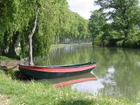 Canal du Midi, au sud de Toulouse, aujourdh'ui utilisé pour le tourisme et l'irrigation