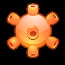 Image:Crystal Clear app virus detected.png