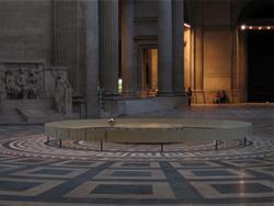 pendule de Foucault au Panthéon de Paris