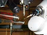 Photographie de goniomètre voir une image agrandie