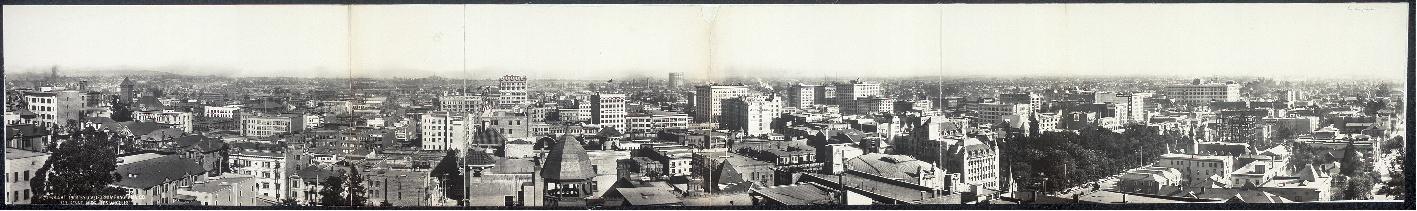 Los Angeles en 1908.