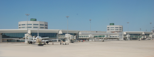 Le nouveau terminal de l'aéroport d'Alger