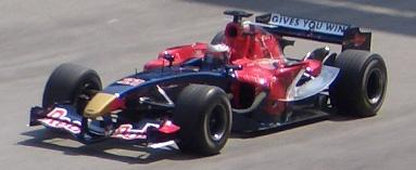 Scott Speed au volant de la STR1 lors du grand prix de Malaisie