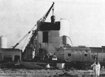 Réacteur SL-1 retiré de la National Reactor Testing Station.