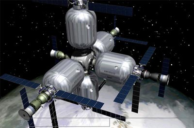 Bigelow Aerospace - Page 2 Station-gonflable